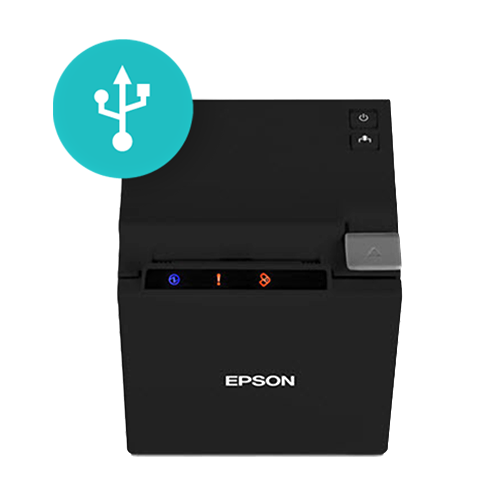 Corrected Epson TM-M10 | USB/Bluetooth Receipt Printer | Black