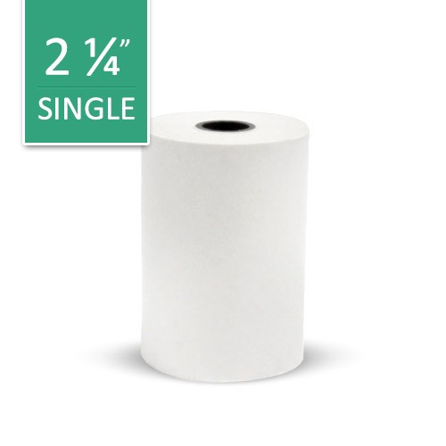 VeriFone NURIT 8020 Paper Roll: 1-Copy, Thermal, Length: 50 ft.- Each