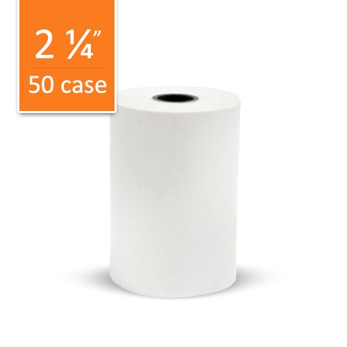 Paper Roll for Pax S500 Paper Extender: 1-Copy, Thermal - Case of 50