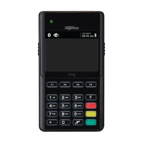 BridgePay Payguardian | Ingenico iSMP4 w/ Scanner | Bluetooth-iOS