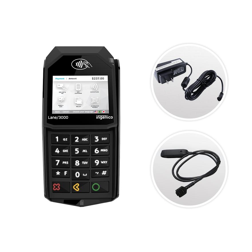 Datacap + TSYS | Ingenico Lane 3000 | Ethernet | Semi Integrated Device