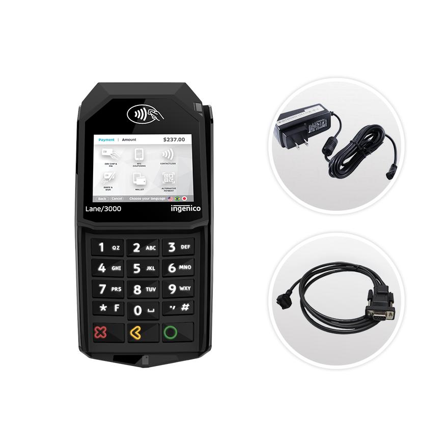 Datacap + Paymentech | Ingenico Lane 3000 | Serial | Semi Integrated Device