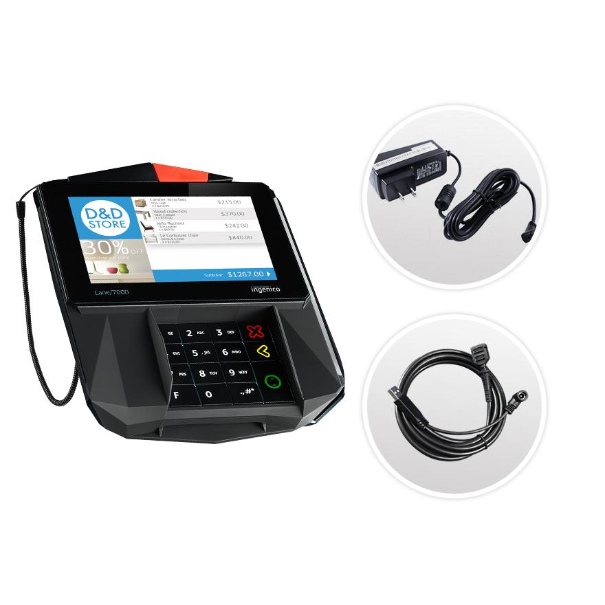Datacap + Heartland | Ingenico Lane 7000 | USB | Semi Integrated Device