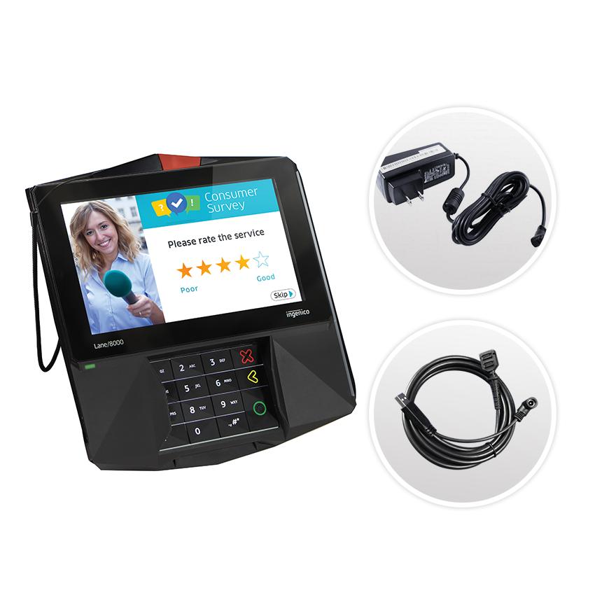 Datacap + TSYS | Ingenico Lane 8000 | USB | Semi Integrated Device