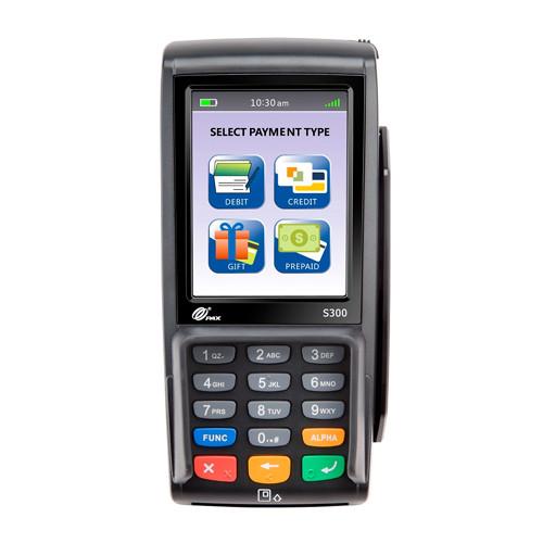 Apriva PAX S300 v4   Dual Com   EMV + NFC   S300-000-364-02NA   POS Portal