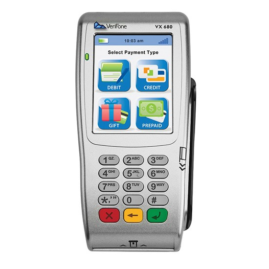 VeriFone VX 680 3.0 GPRS 192Mb SCR/Contactless