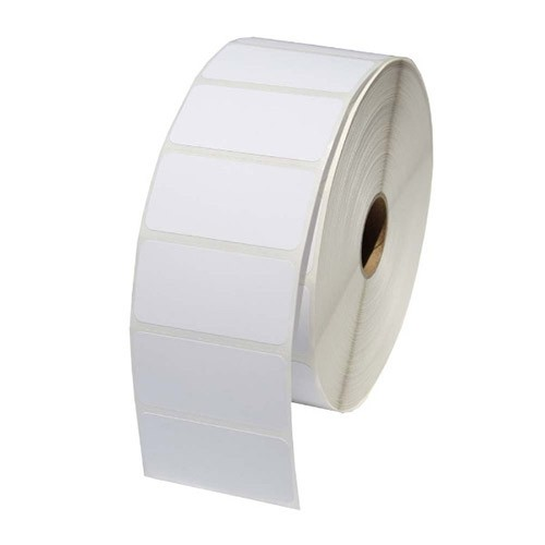 "White Thermal Printer Labels for Zebra Printers 2"" x 1"""