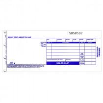 Form, Sales, 80 Col, 3 Copy, Carbonless