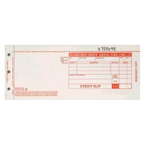 Form, EDC Credit (Return), 80 Col, 3 Copy, Carbonless