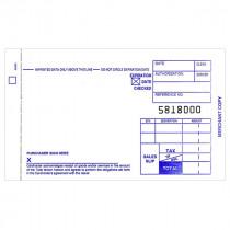 Form, Sales, 51 Col, 2 Copy, Carbonless