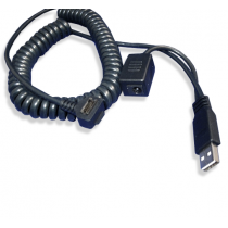 Cable: VeriFone Vx810 PIN Pad to USB, Coil