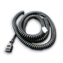 Cable: VFN Vx8xx, RS232 to RJ45, Coil, 1.3M Corrected