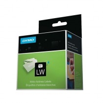 """White Thermal Printer Labels for DYMO Printers 1"""" x 1.5"""""""