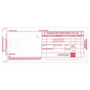 Form, Credit (Return), 80 Col, 2 Copy, Carbonless
