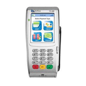 CorrectedVeriFone VX 680 3.0 GPRS 192Mb SCR/Contactless