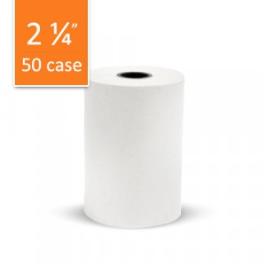 50 Rolls of VeriFone Vx520 w/Contactless No Ribbon, 1 Copy Thermal Paper Rolls