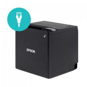 Epson TM-M30   Ethernet Receipt Printer   Black