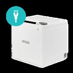Epson TM-M30   Ethernet Receipt Printer   White