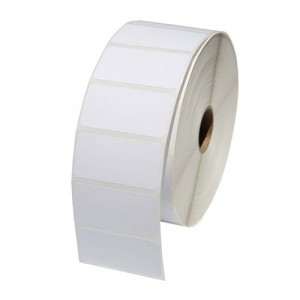 "White Thermal Printer Labels for Zebra Printers 2"" x 1"""