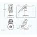 FlexiPole SafeBase Complete for Verifone VX 805/820