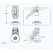 FlexiPole SafeBase Complete for Ingenico iPP320/350/310